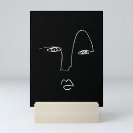 The Look  Mini Art Print