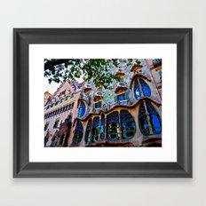 Casa Batllo: Barcelona, Spain Framed Art Print