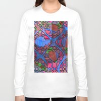bar Long Sleeve T-shirts featuring Bar Gap by RingWaveArt