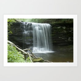 Watefall Art Print