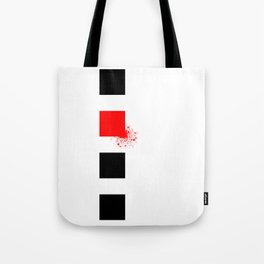 Don't Lose Control (Square) Tote Bag