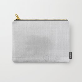 Winter scenery with tree fog Carry-All Pouch