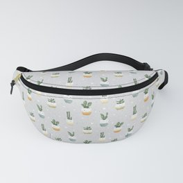 Сute cacti and succulents Fanny Pack