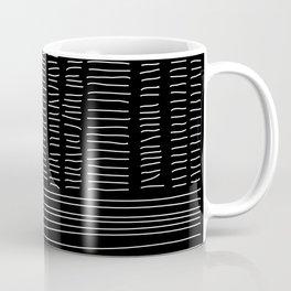 Digital Stitches detail 1 black Coffee Mug