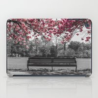 cherry blossom iPad Cases featuring Cherry Blossom by Claire Doherty