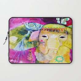 A Soft Place to Fall Laptop Sleeve