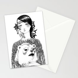 Conquering the Inner Beast Stationery Cards