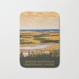 Wood Buffalo National Park Bath Mat