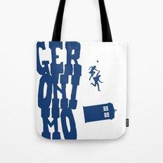 Geronimo Doctor Who Tote Bag