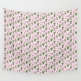 Cactus Love (in pink) Wall Tapestry