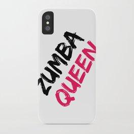 Zumba Queen iPhone Case