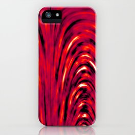 Heat Pattern iPhone Case