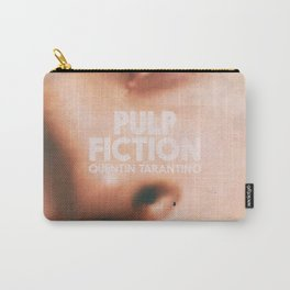 Pulp Fiction, Quentin Tarantino, alternative movie poster, Uma Thurman, Mia Wallace Carry-All Pouch