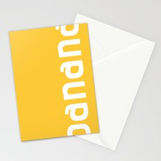 Colors - Banana Stationery Cards