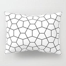 Moroccan Diamonds B&W Pillow Sham