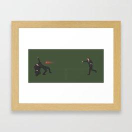 Dodge This Framed Art Print