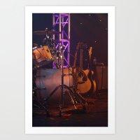 Soundless Stage Art Print