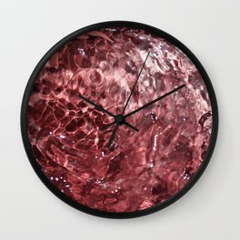 Cotton candy art Wall Clock