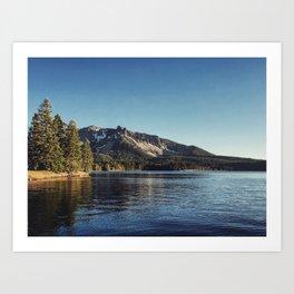 Paulina Lake Art Print