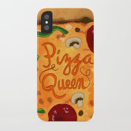 Pizza Queen iPhone Case