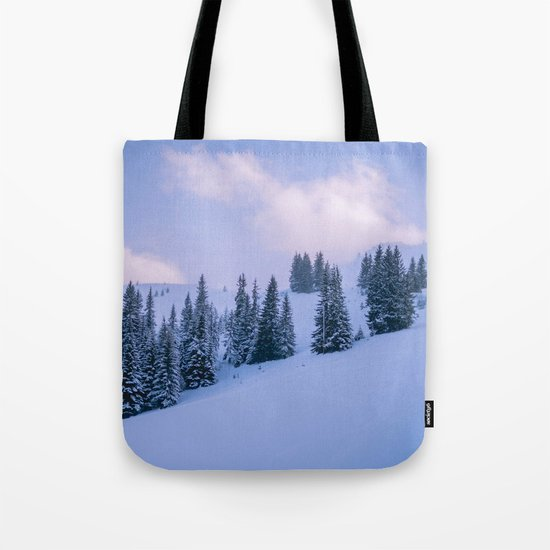 The Winter Woods Tote Bag