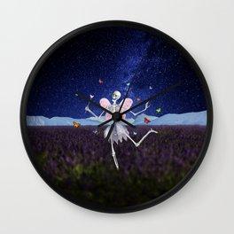 The Death Fairy Wall Clock