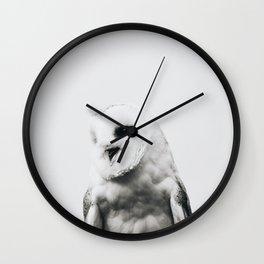 Owl - Scandinavian Wall Clock
