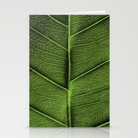 leaf Stationery Cards featuring LEAF by Ylenia Pizzetti
