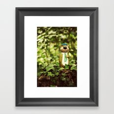 Yogi Bear Framed Art Print