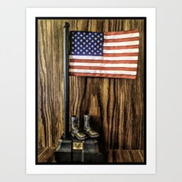 In Gratitude To Our Country and Military People Art Print