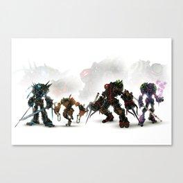 Turtle Tech Canvas Print