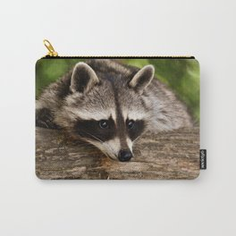 Adorable Raccoon Photo Carry-All Pouch