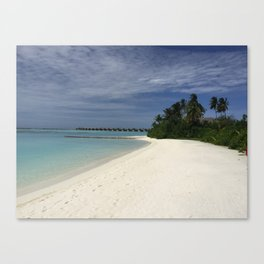 Blue Water... Canvas Print