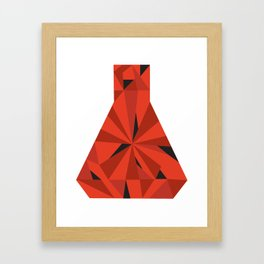 Science Ruby Framed Art Print