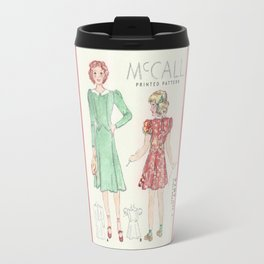 Retro Chic Travel Mug