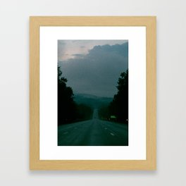 Entering Lake George Framed Art Print