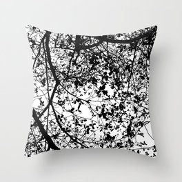 Witnessing Trees Throw Pillow