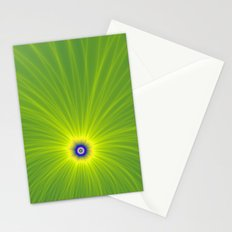 Color Explosion in Yellow and Green Stationery Cards