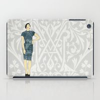 olivia joy iPad Cases featuring Olivia by Aquamarine Studio