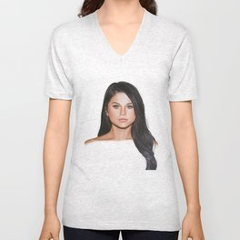 REVIVAL DRAWING - BY MICHAEL BRAUDIS Unisex V-Neck
