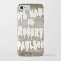 sarah paulson iPhone & iPod Cases featuring HIS NAME IS ROBERT PAULSON. by SoNearlyOriginal