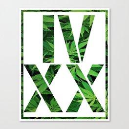 IV XX Canvas Print