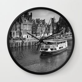 King's Staith beside the river Ouse Wall Clock