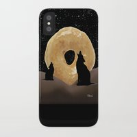 murakami iPhone & iPod Cases featuring Donut Howl by Geni