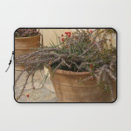 Courtyard Plants Laptop Sleeve