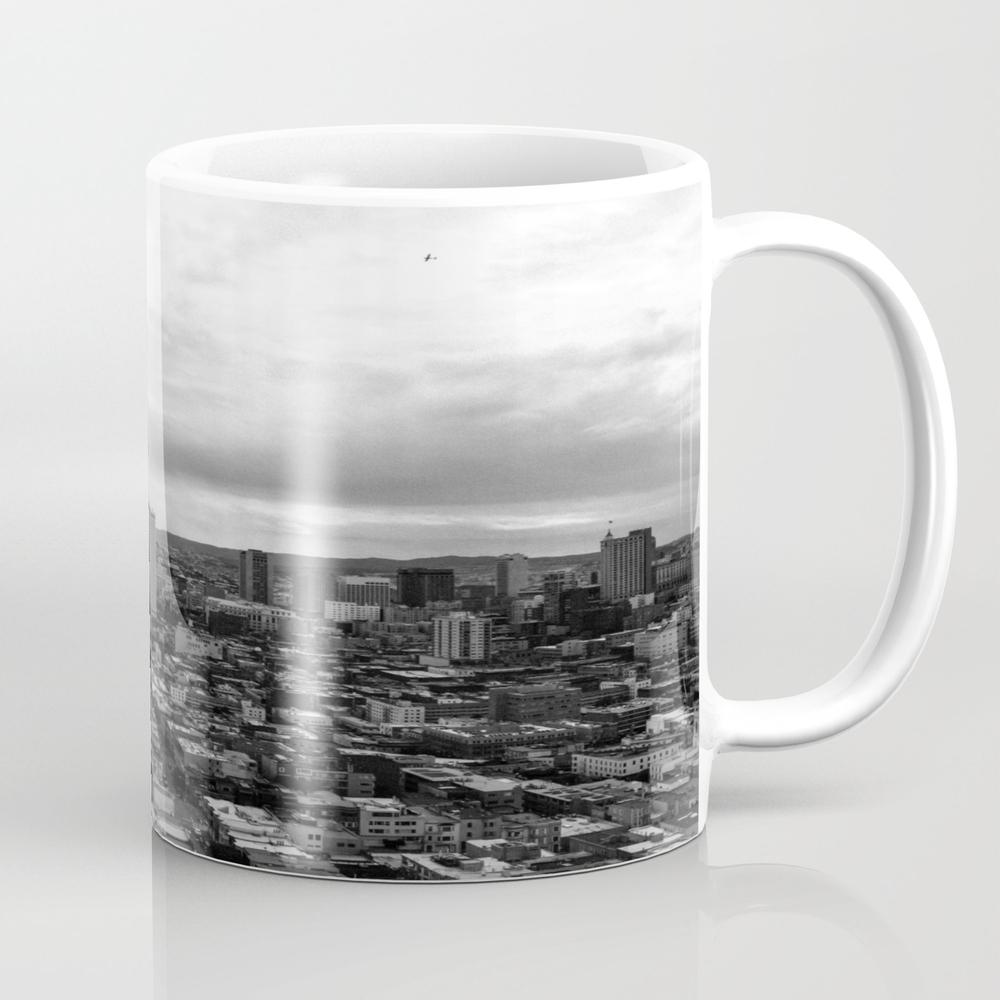 San Francisco Monochrome Mug by Elementalnorth MUG7763933