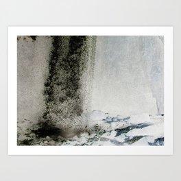 Water and Smoke Art Print