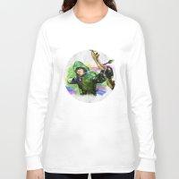 arrow Long Sleeve T-shirts featuring arrow by evenstarss