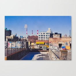 Long Island City Skyline Canvas Print