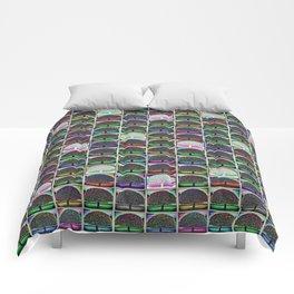 Victorian Park Tree Comforters